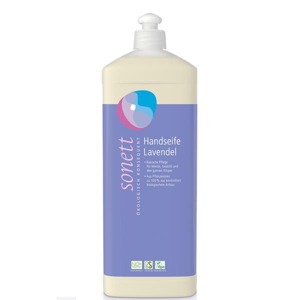 Jabón de manos de lavanda