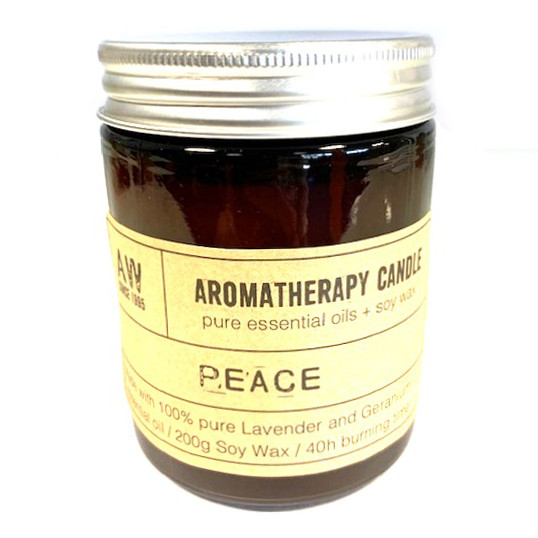 Vela para Aromaterapia Paz